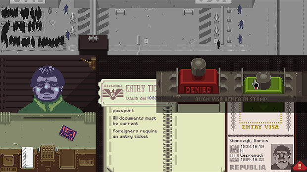 Papers, please : vis ma vie de... douanier